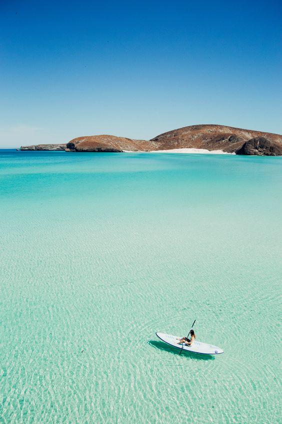 Playa Balandra en Baja California